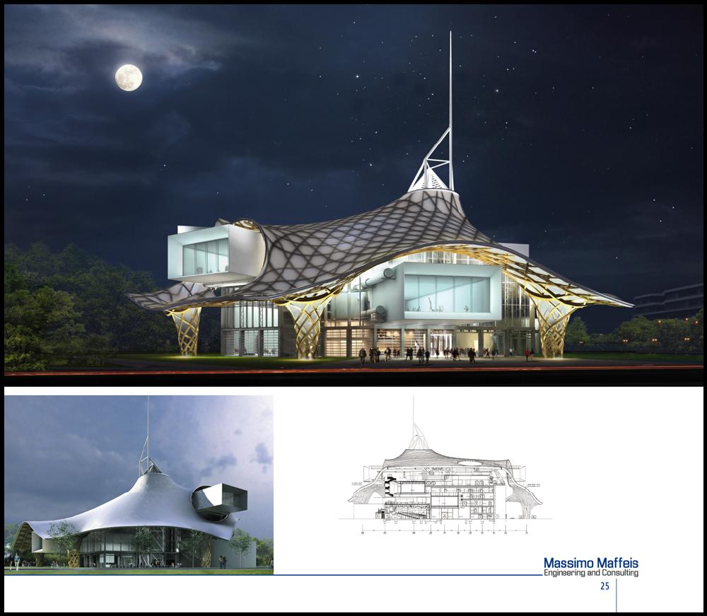 maffeis engineering, bureau d'ingénieurs. brochure des projets katia lorenzon